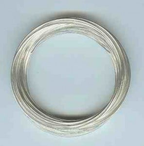 silver plate wire