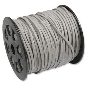 grey suedette cord
