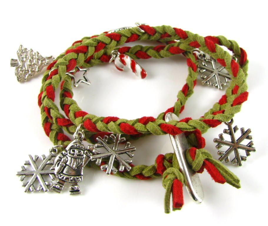 Its a Wrap Christmas Bracelet - Spoilt Rotten Beads