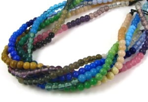 Indian Glass Bead Strands