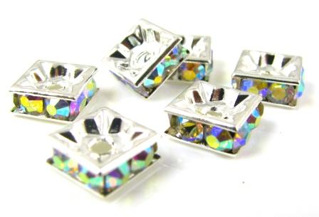 Crystal Rondelle Spacers