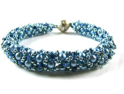 tubular-netted-bracelet-ice