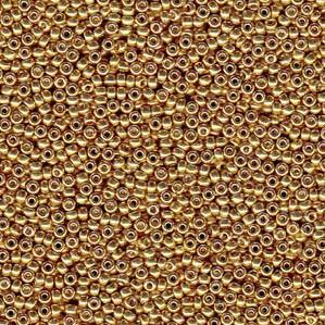 11-0-miyuki-seed-beads-24-gram-tube-galvanised-gold-duracoat