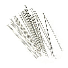 2-inch-silver-plated-headpins-soft-bag-of-100