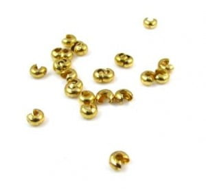 3mm-gold-plated-crimp-covers-x-25
