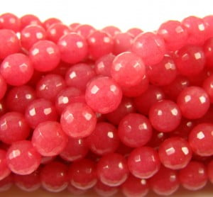 6mm-Faceted-Dyed-Rounds-Pink