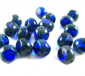 7mm-Table-Cut-Bead-Deep-Blue-with-Picasso