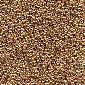 8-0-miyuki-seed-beads-22-gram-tube-galvanised-champagne-duracoat