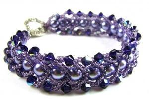 Flat-Spiral-Purple-Velvet