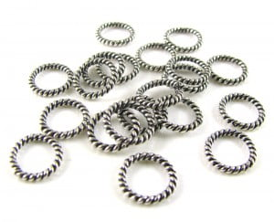 Silver-Plated-Rope-Ring-8mm-Pack-of-20