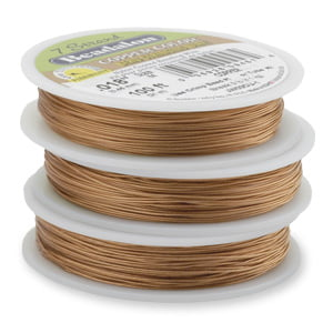 beadalon-7-strand-0.15-30ft-spool-copper-new