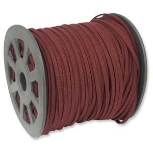 burgandy-microfibre-suede-per-meter