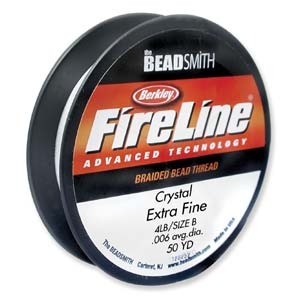 fireline-braided-bead-thread-6lb-crystal-50yd-spool