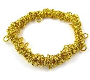 gold-plated-bungee-charm-bracelet
