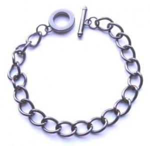 gunmetal-charm-bracelet