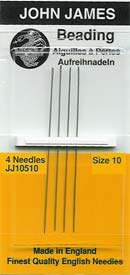 john-james-beading-needles-size-10