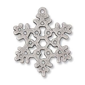 pewter-snowflake-charm