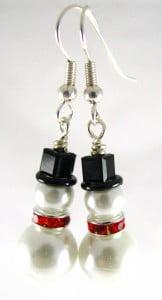 snowman-earrings