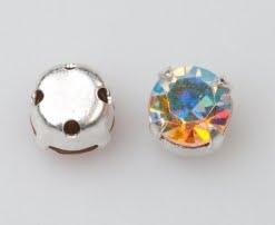 Rosemontee crystal AB_silvera