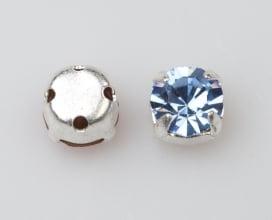 Rosemontee light sapphire_silver