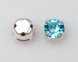 Rosemontee aqua-silver