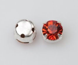 Rosemontee red rosa-silver