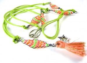flamingo festival necklace