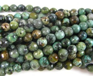 2mm african turquoise rounds