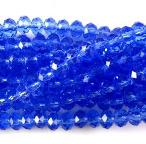 mid blue rondelles