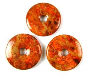 orange impression jasper donut
