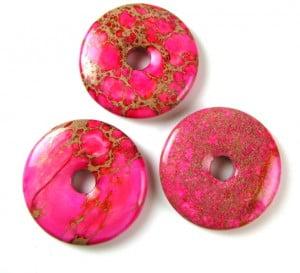 pink impression jasper donut