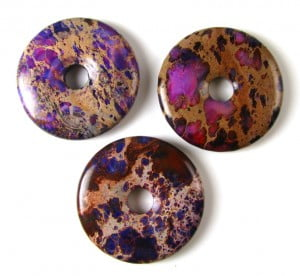purple impression jasper donut