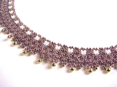 netted anklet with sue picknell