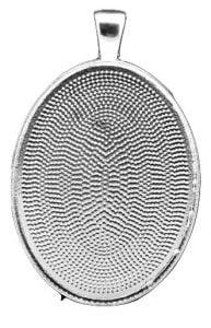 oval bezel