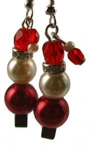 tippy-hat-santa-earrings