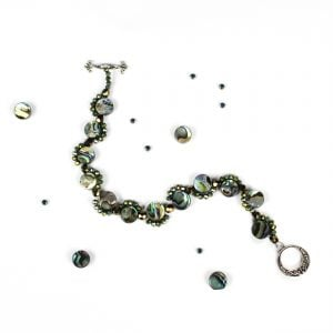 Aphrodite Abalone Bracelet