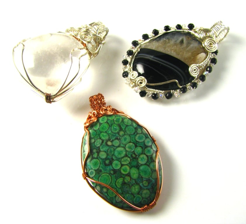 Wire Wrapping stones with Vivien - Spoilt Rotten Beads