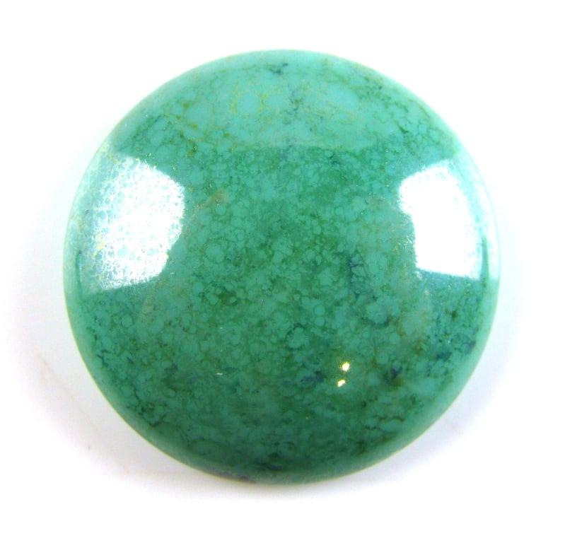 Light Green Marble : Czech glass cabochon mm light green marble spoilt
