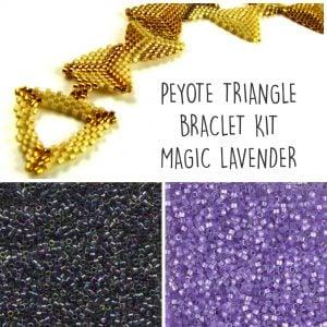 triangles magic lavender