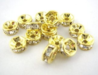 2eb4897a860ff Crystal Rondelle Spacers - Spoilt Rotten Beads