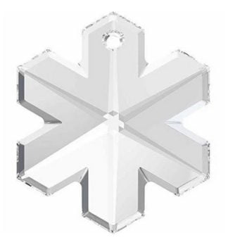 Swarovski Snowflake Pendant (6704)