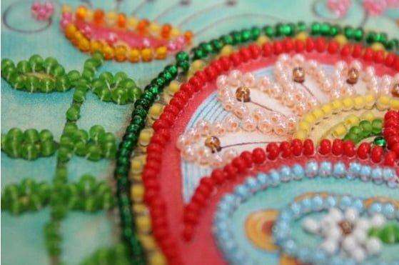 English Summer Blossom Tassel Embroidery Kit