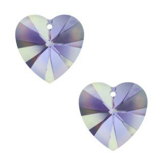 Swarovski Xilion Heart Pendant (6228)