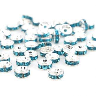 Crystal Rondelle Spacers